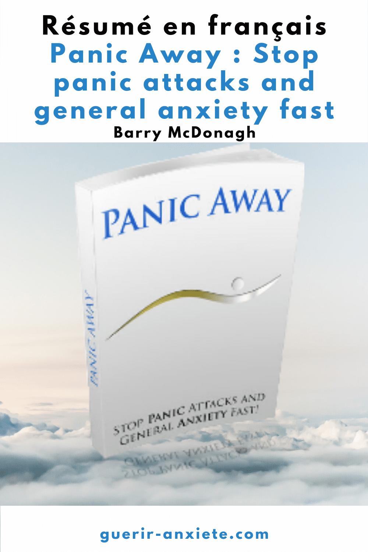 résumé panic away barry mcdonagh comment mettre fin rapidement aux crises d'angoisse et à l'anxiété généralisée