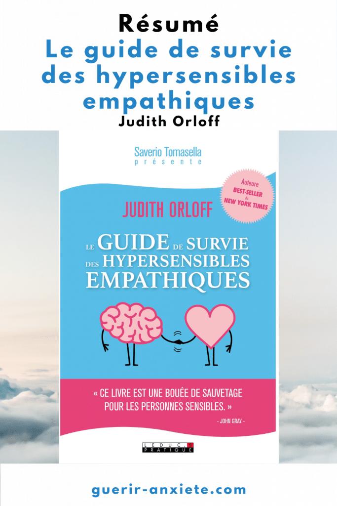 résumé guide de survie des hypersensibles empathiques