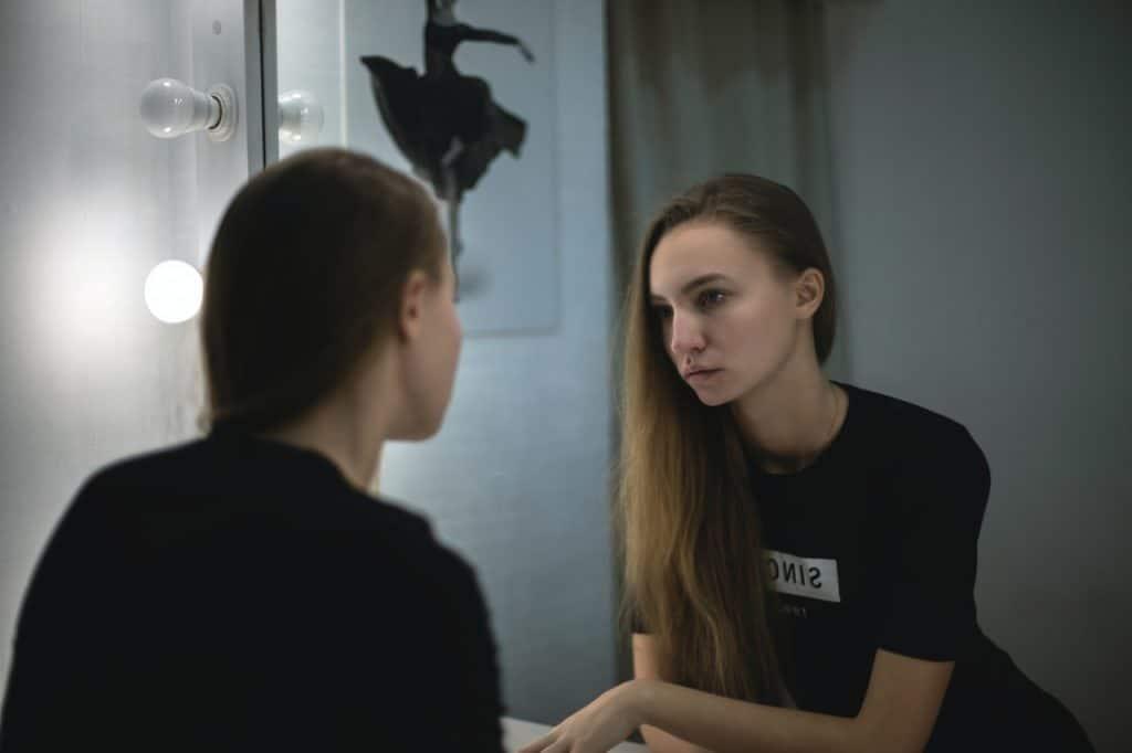 je m'aime miroir