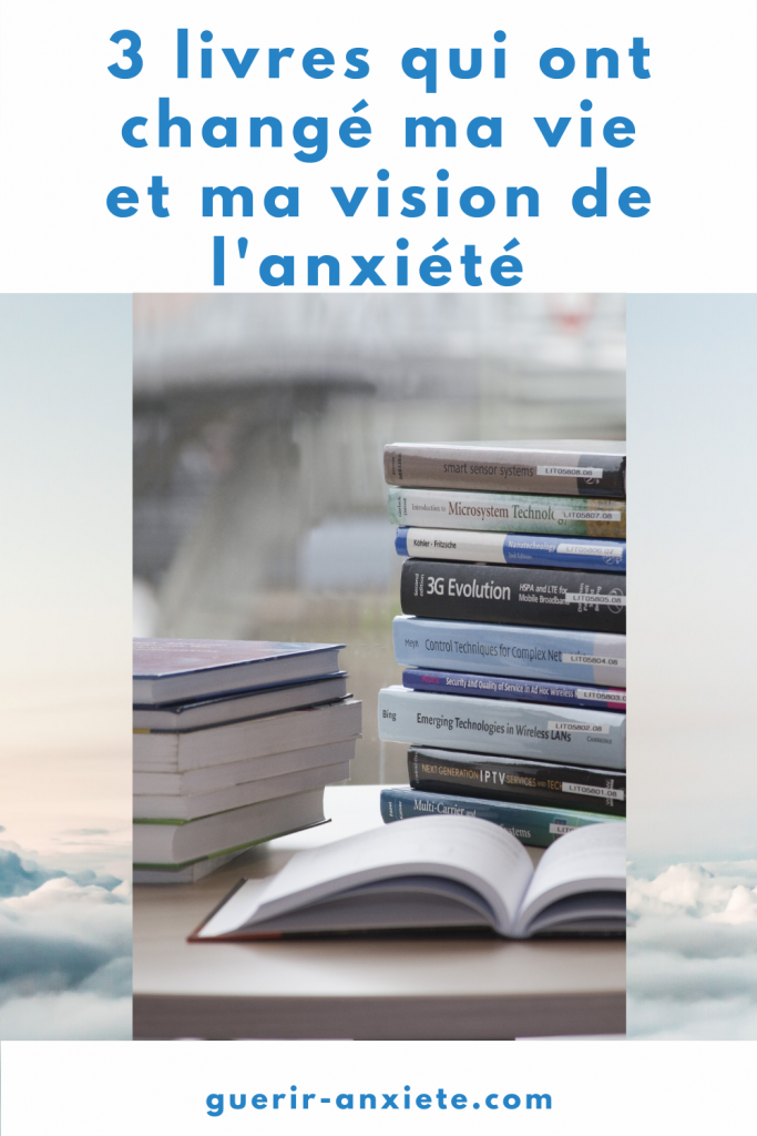 Livres changé vie anxiété