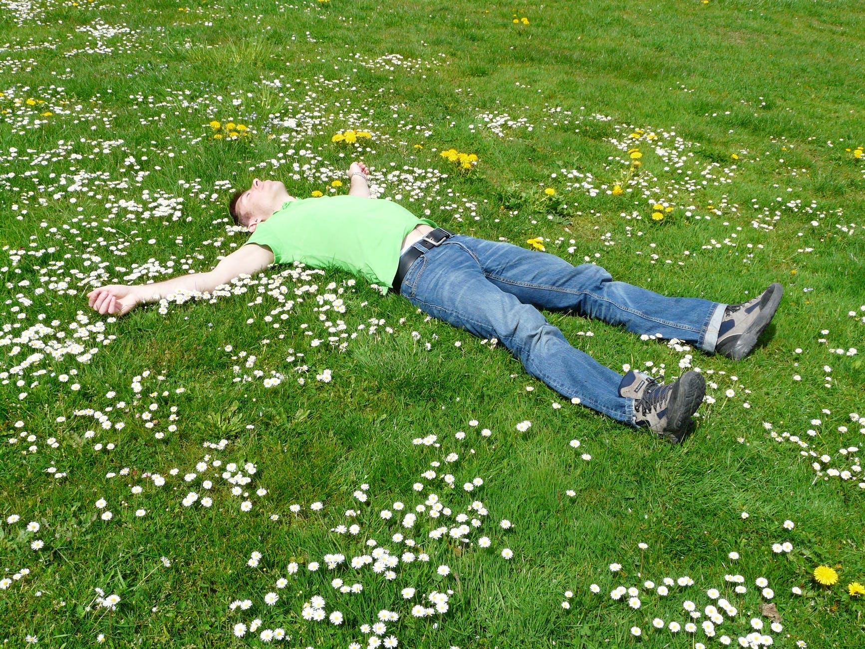 repos détente anxiété et douleur musculaire